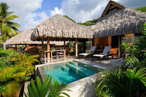 Moorea Pearl Resort And Spa In A Garden Room